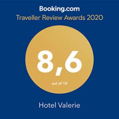 Booking.com Traveller Review Award - Hotel Valerie