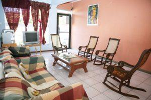 Recepción - Hotel Valerie, Managua