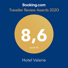 Booking.com Traveller Review Award - Hotel Valerie